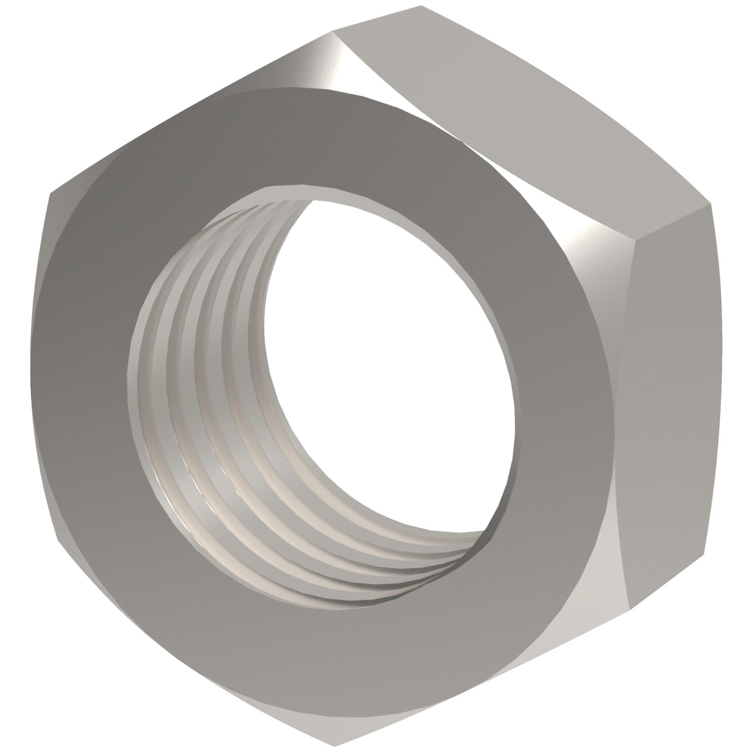 Full Nuts Coarse Thread Stainless steel A2. Nuts and washers are manufactured to DIN 934
