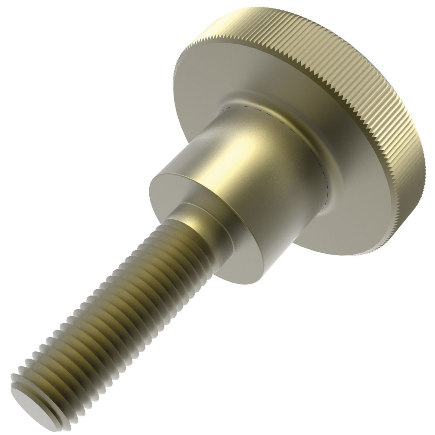 Brass Knurled Thumb Screws Brass thumb screws manufactured to DIN 464. Available in two variations, flat and knurled.