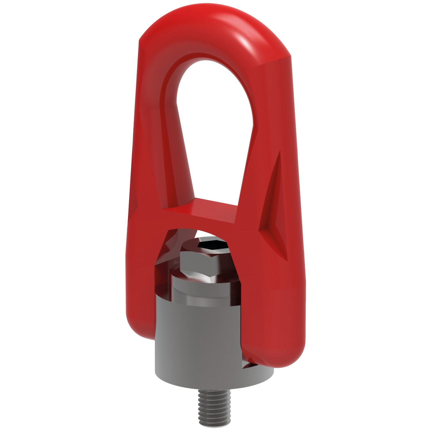 Double Swivel Rings Male Double swivel lifting rings M4 to M30 - loads up to 6.3 tons per ring.