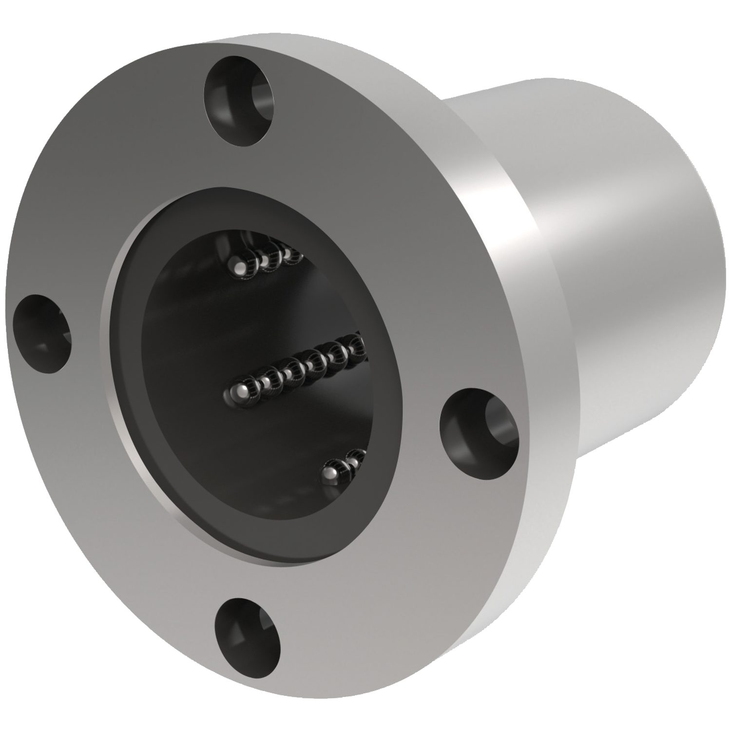 Flanged Linear Ball Bushings Circular flanged linear ball bushings - 6mm to 60mm.