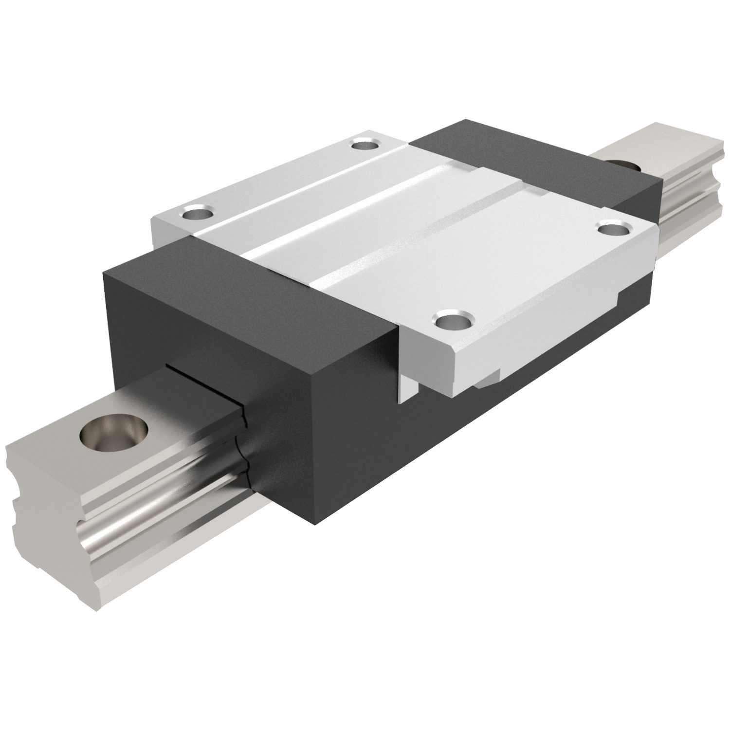Flanged Aluminium Carriages Flanged carriages for aluminium linear guideways.