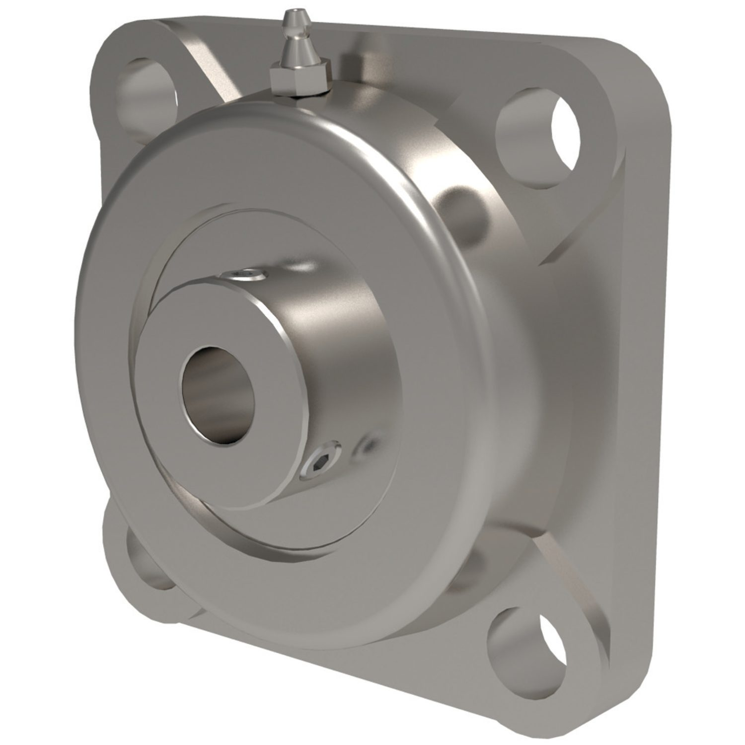 Stainless Square Flanged Bearing Units Stainless Steel four bolt square flanged cast iron pillow block/plummer block.