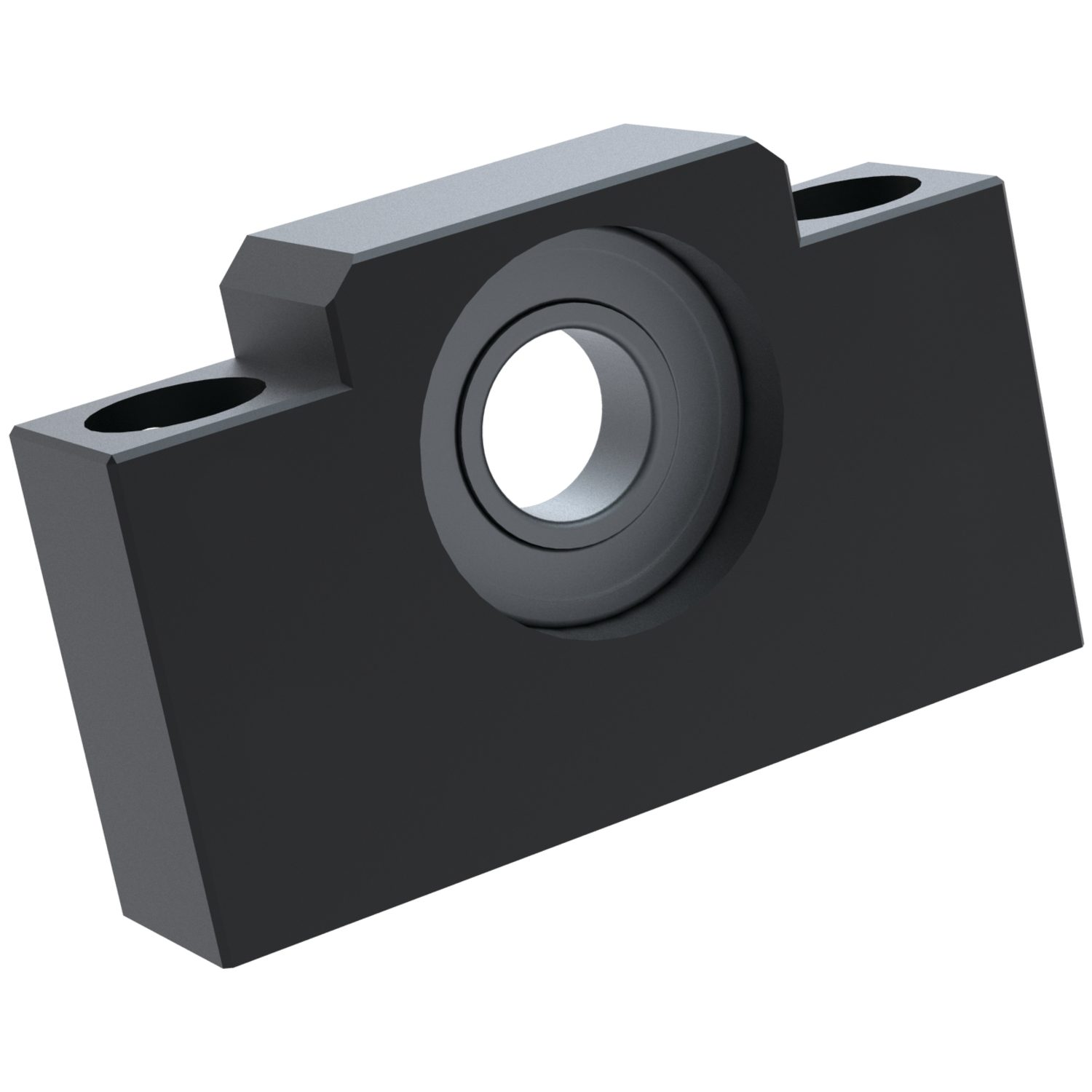 Floating Rectangular Support Units (AF) High precision lead screws with flanged acetal nuts.
