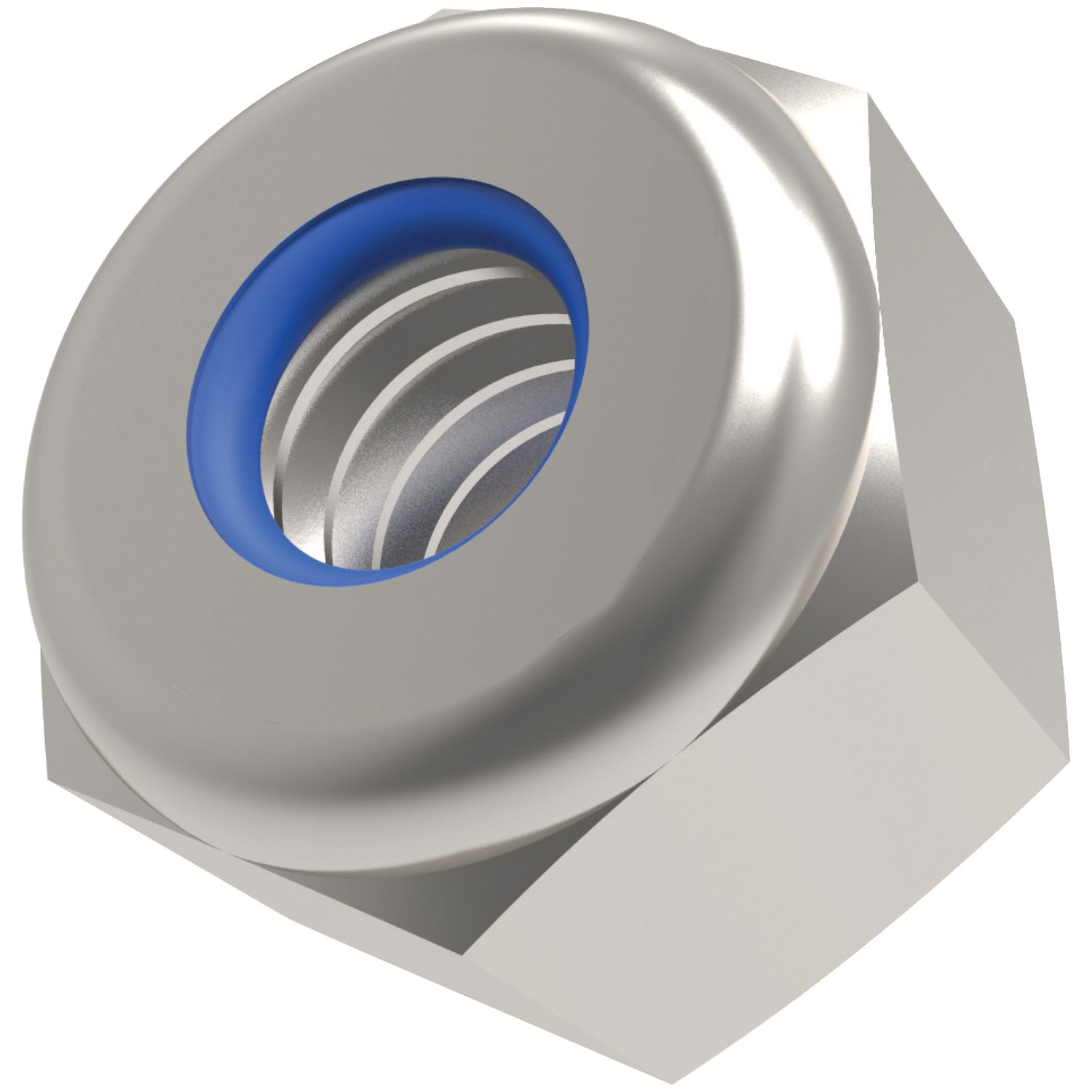 Nylon Insert  Nuts - High Type Zinc plated