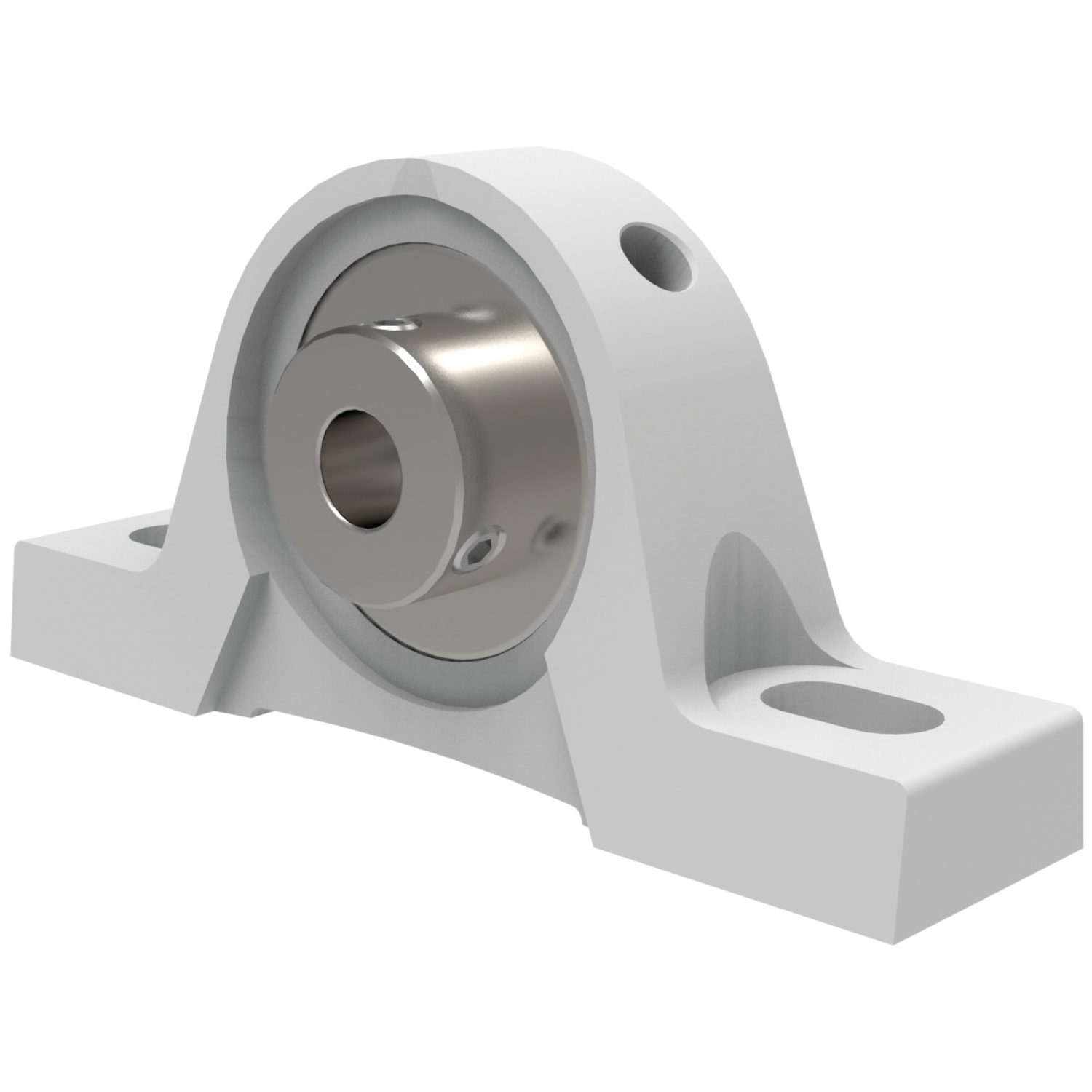 Thermoplastic Pillow Block Unit Thermoplastic two bolt cast iron pillow block/plummer block.