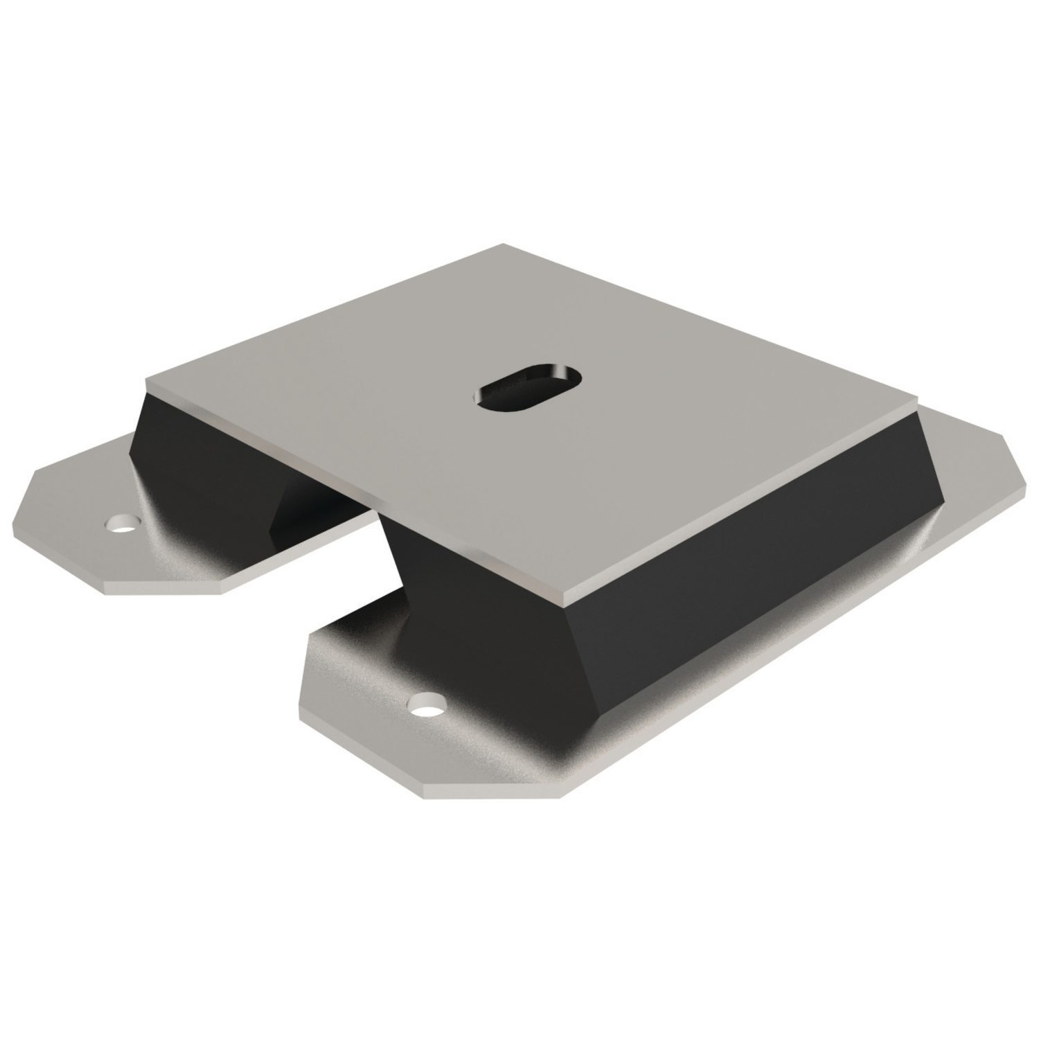 Anti-vibration Mounts Rectangular anti-vibration mounts - Two types available. Used where transverse loads are present.