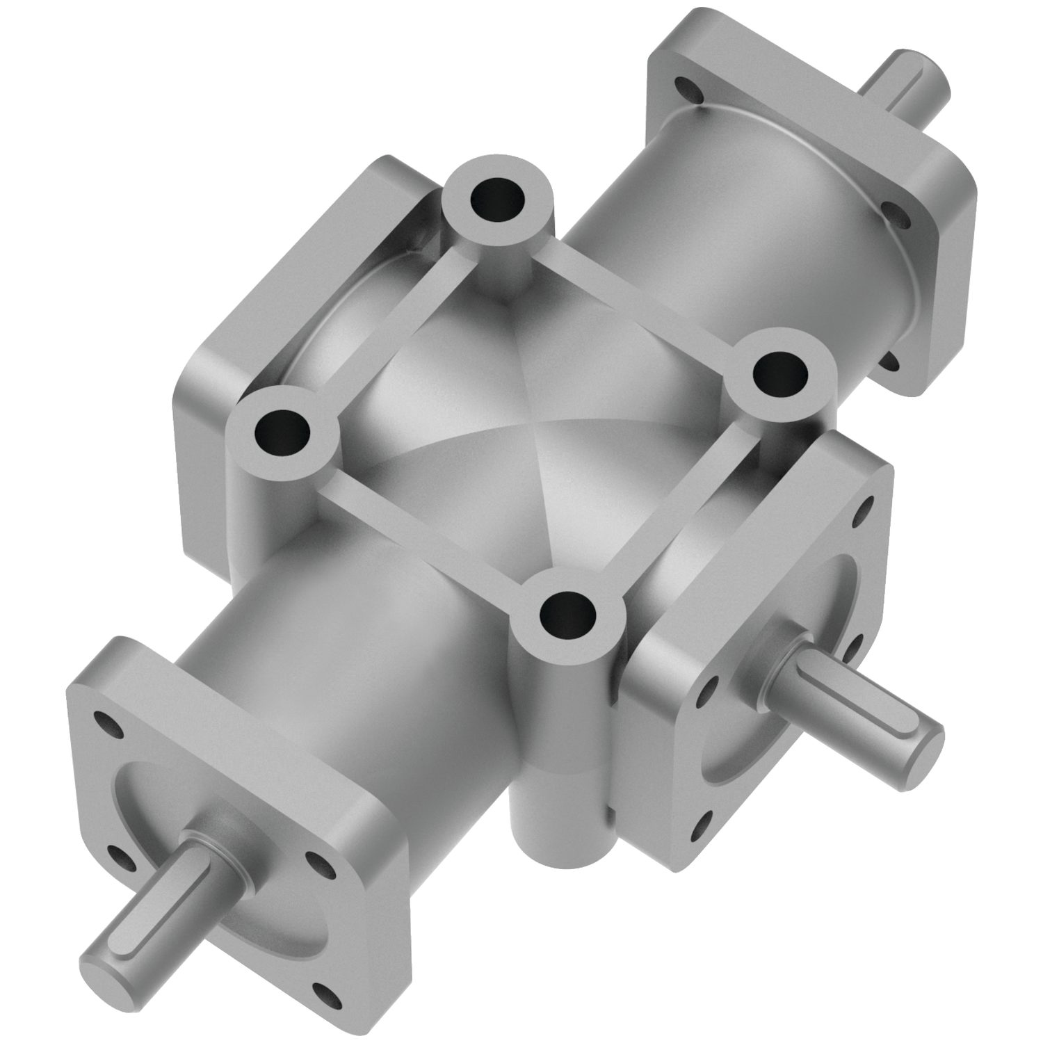 Right Angle Drives - 3 Shafts Where ratio geared units are used as speed increasers the optimum input speed is 750 rpm for 1:2 ratios.