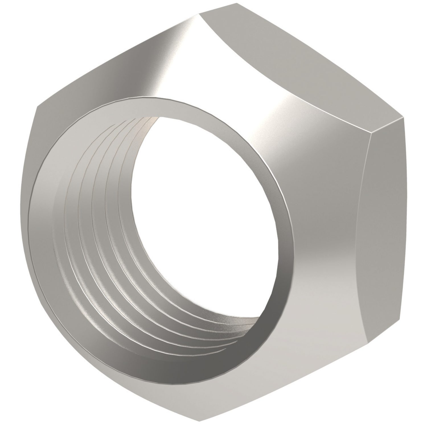 Stover Nuts Zinc plated. Reusable, resistant to shocks, vibrations and dynamic loads.