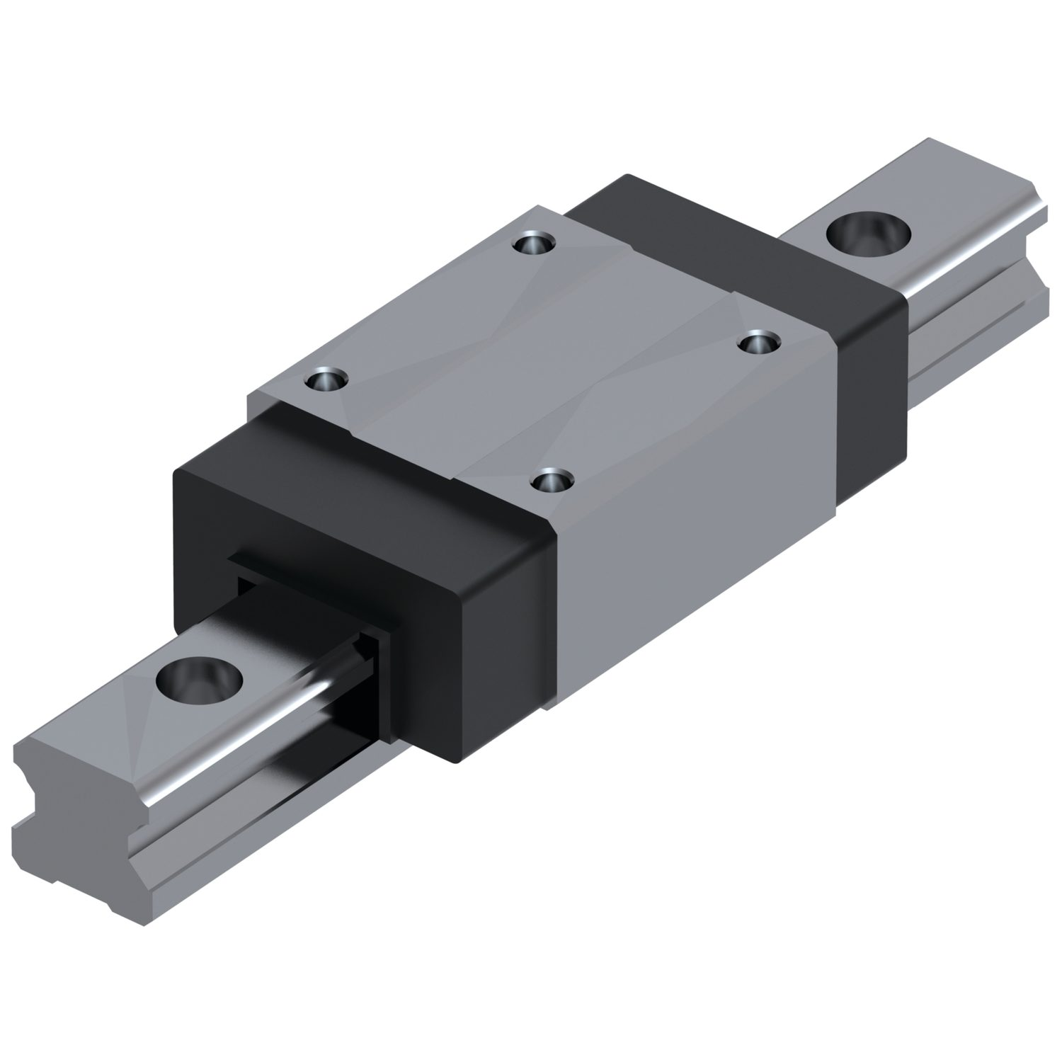 Unflanged Carriages - Standard Unflanged carriages for linear guideways.