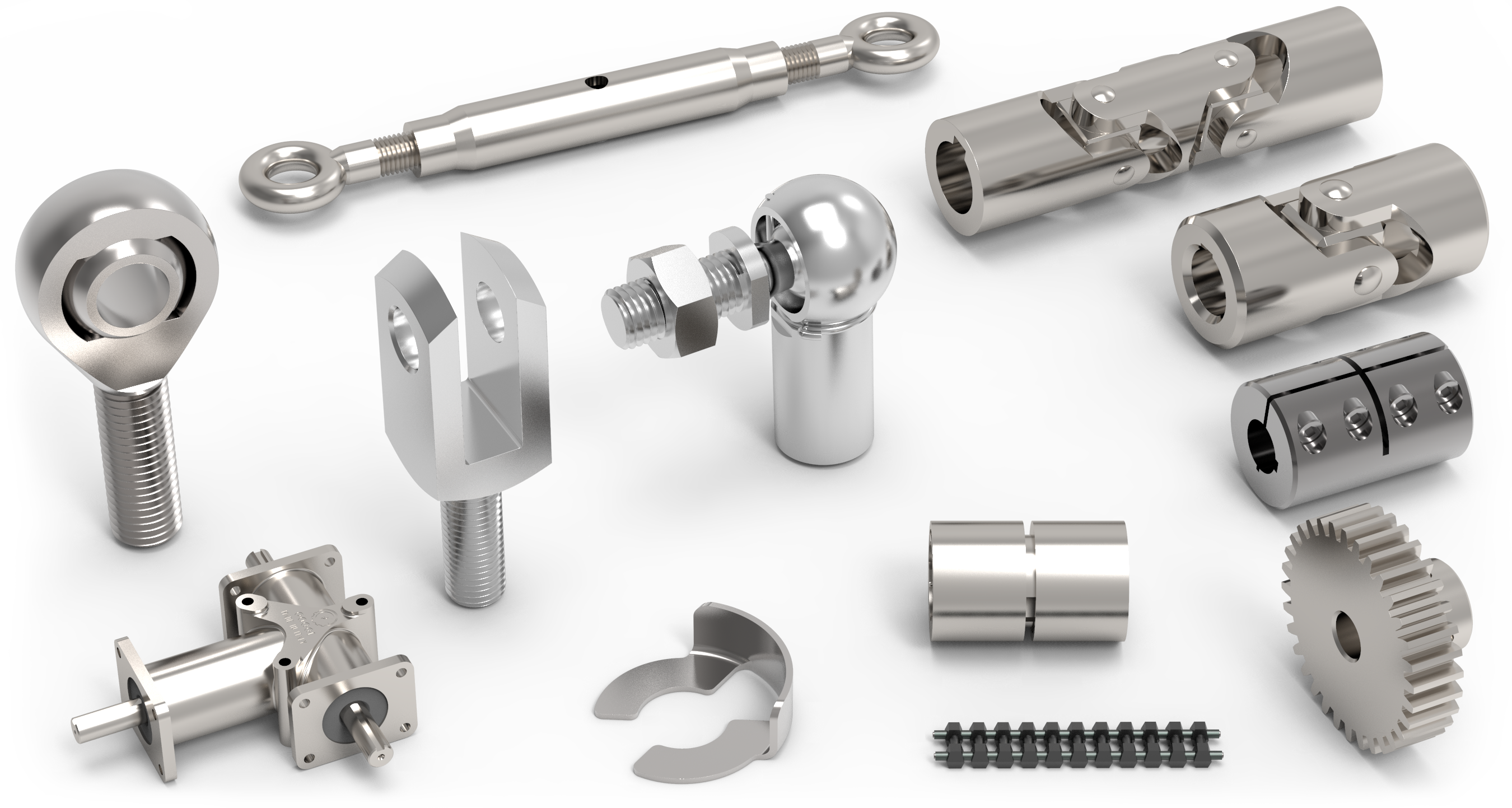 Clevis Joints & Clips