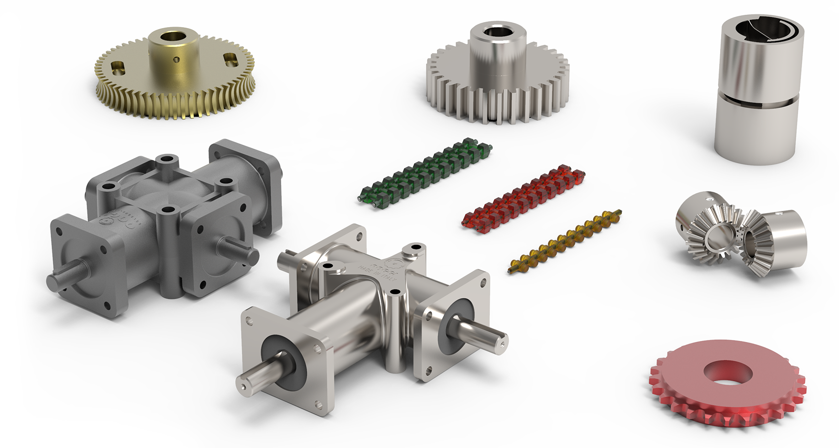 Gears, Gear Boxes & Belts