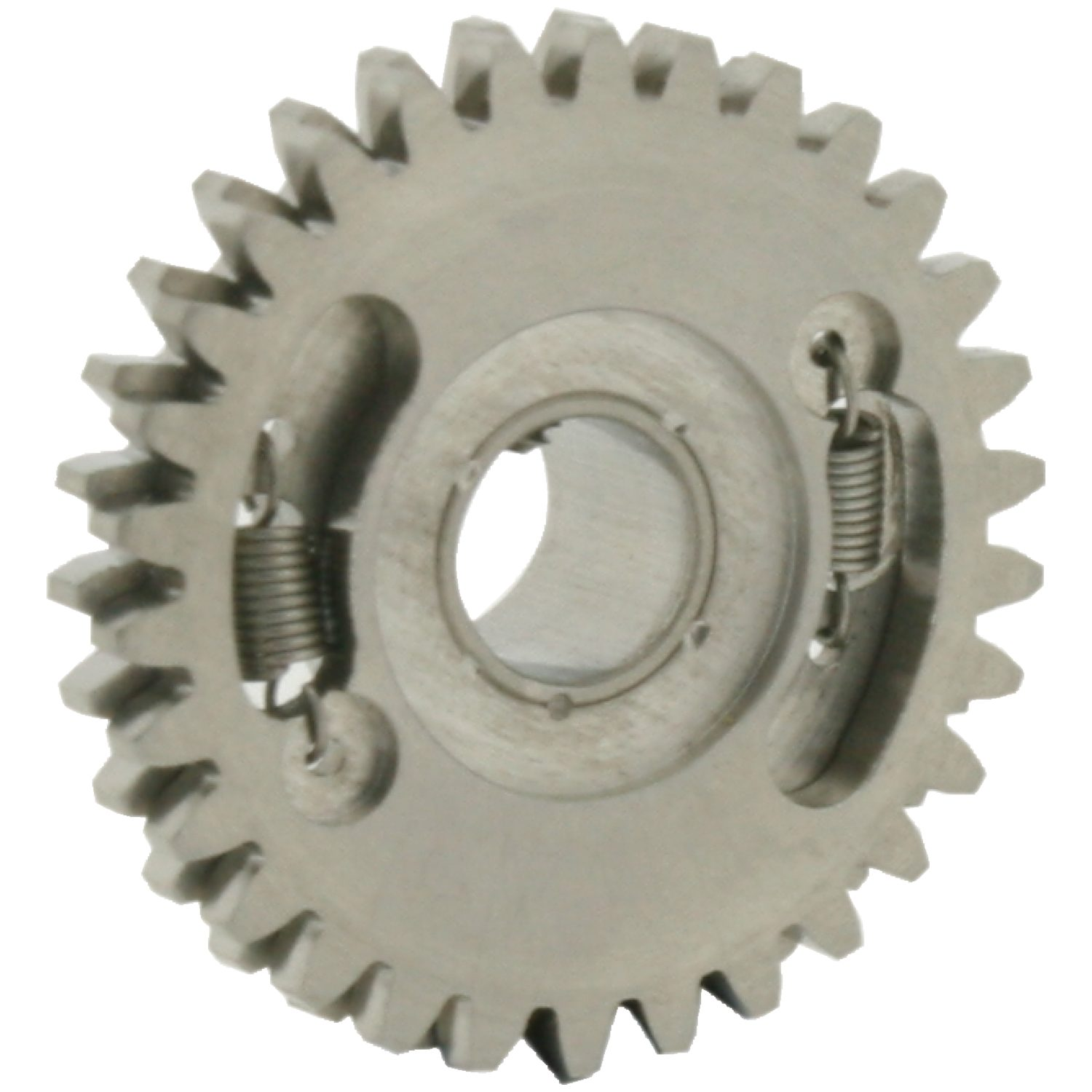 Anti-backlash gears