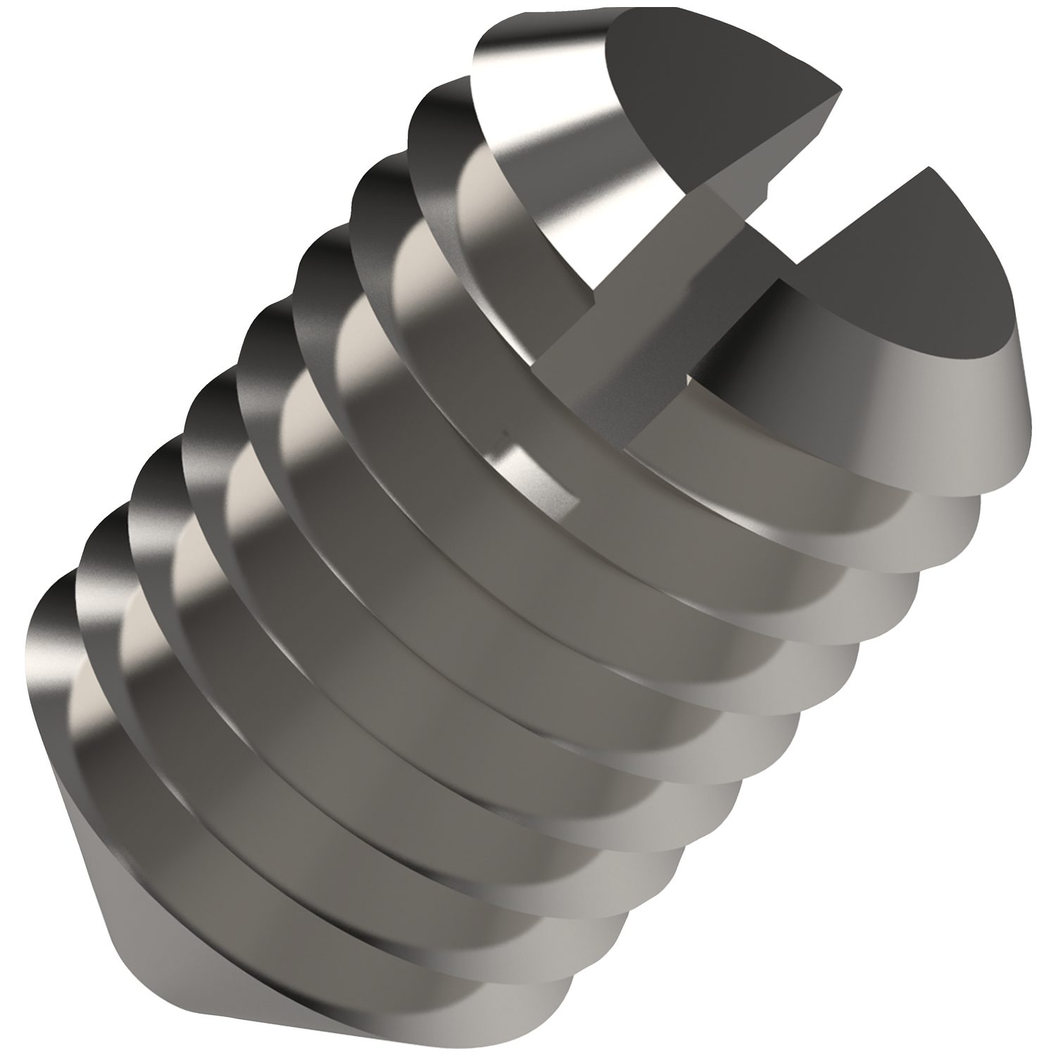 P0278.A4 - Slotted Set Screws Cone Point