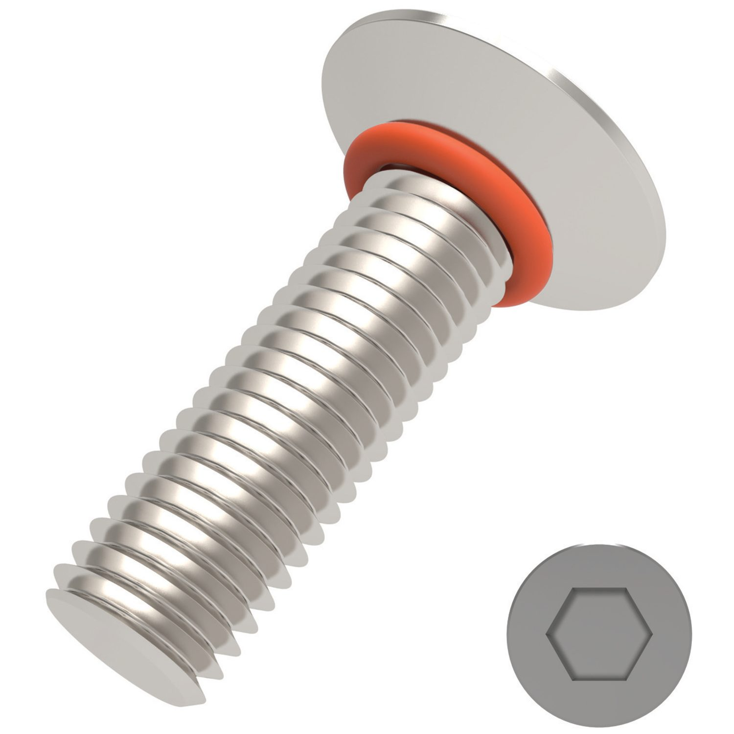 P0175 - Countersunk Seal Screws