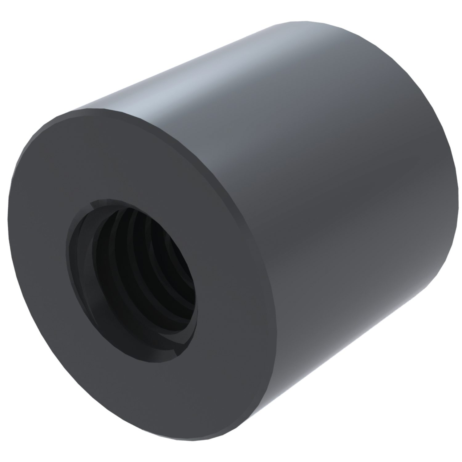 Product L1343, Cylindrical Nylon Nuts  /