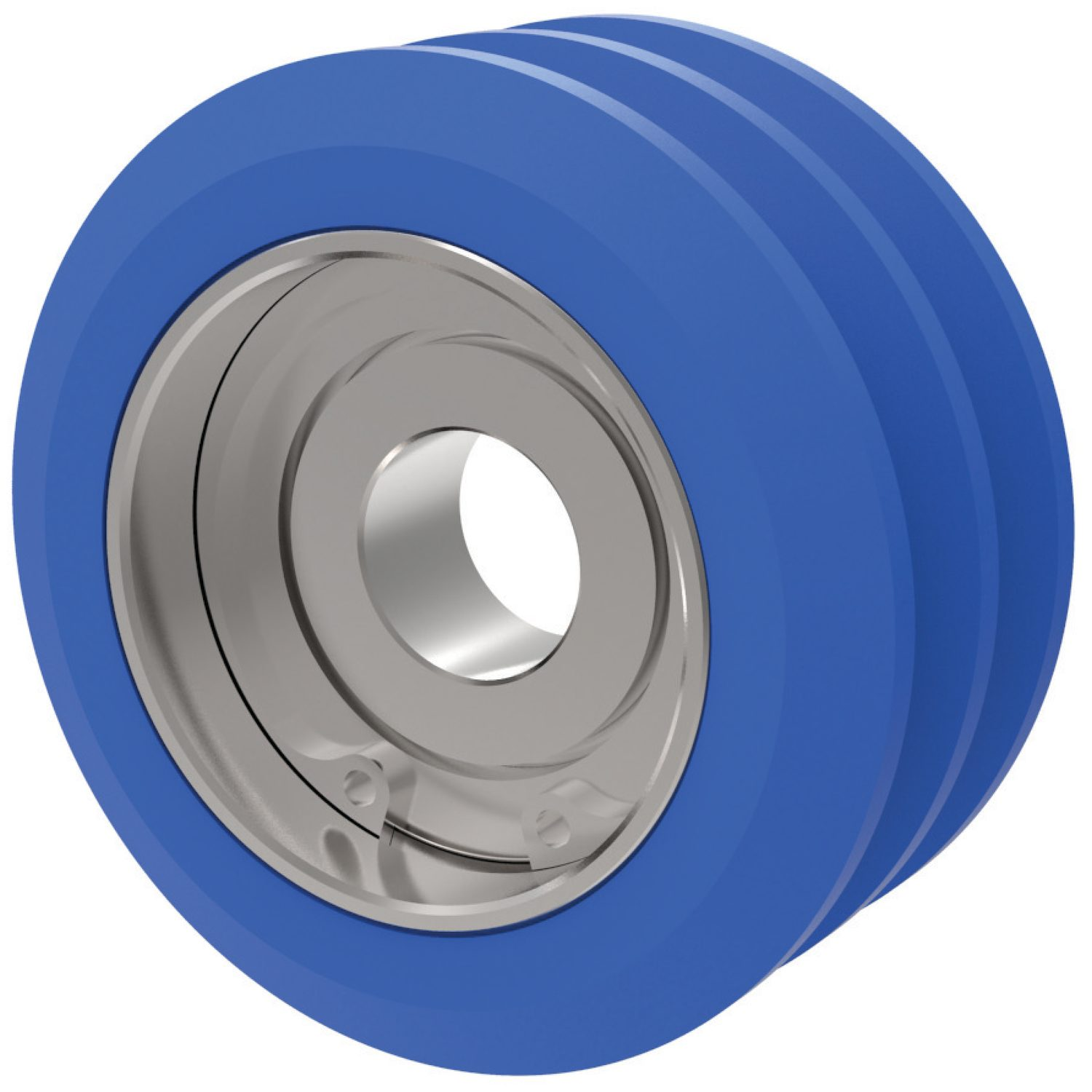 P2772 - Finned Roller- bearing mount