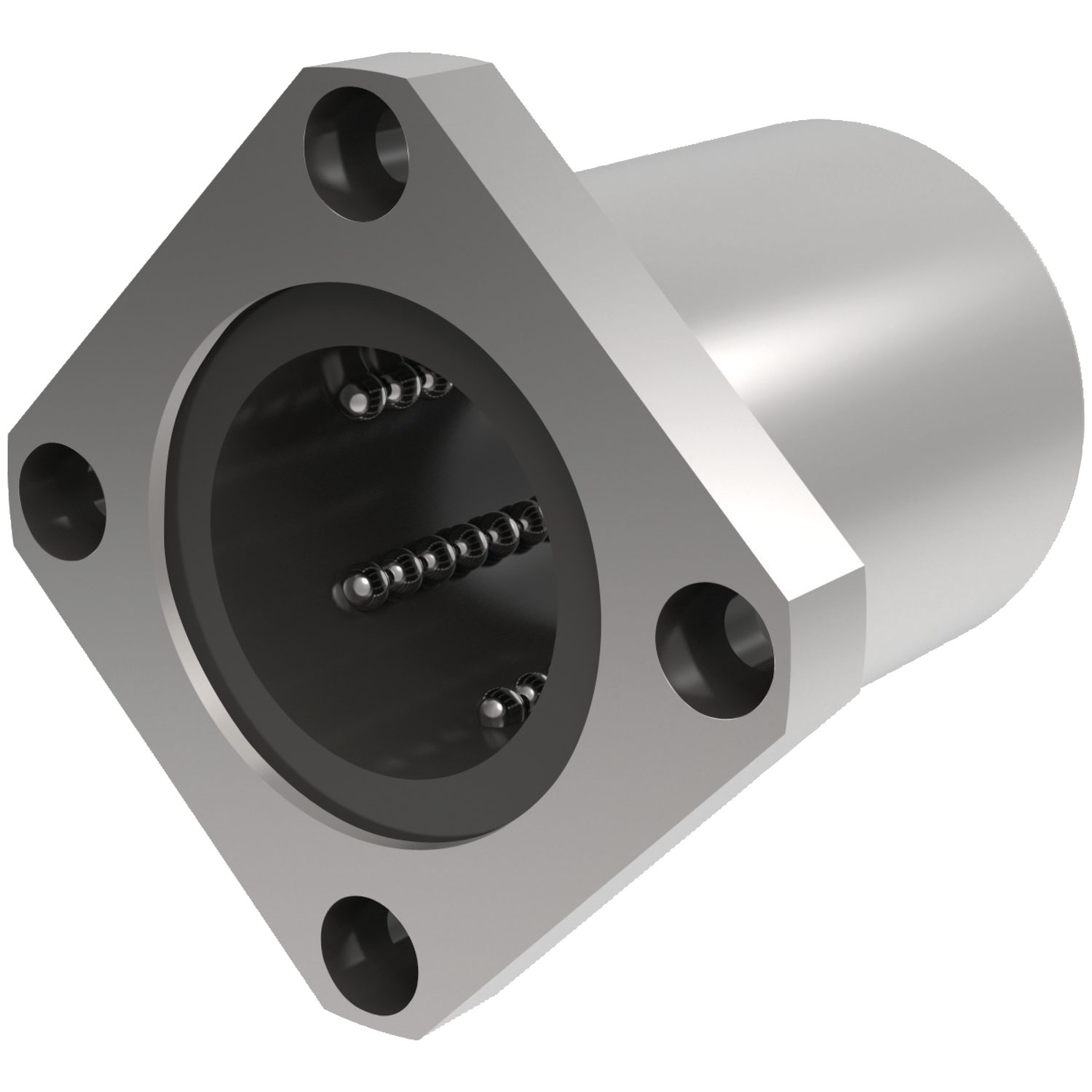 Product L1719, Flanged Linear Ball Bushings square flange /