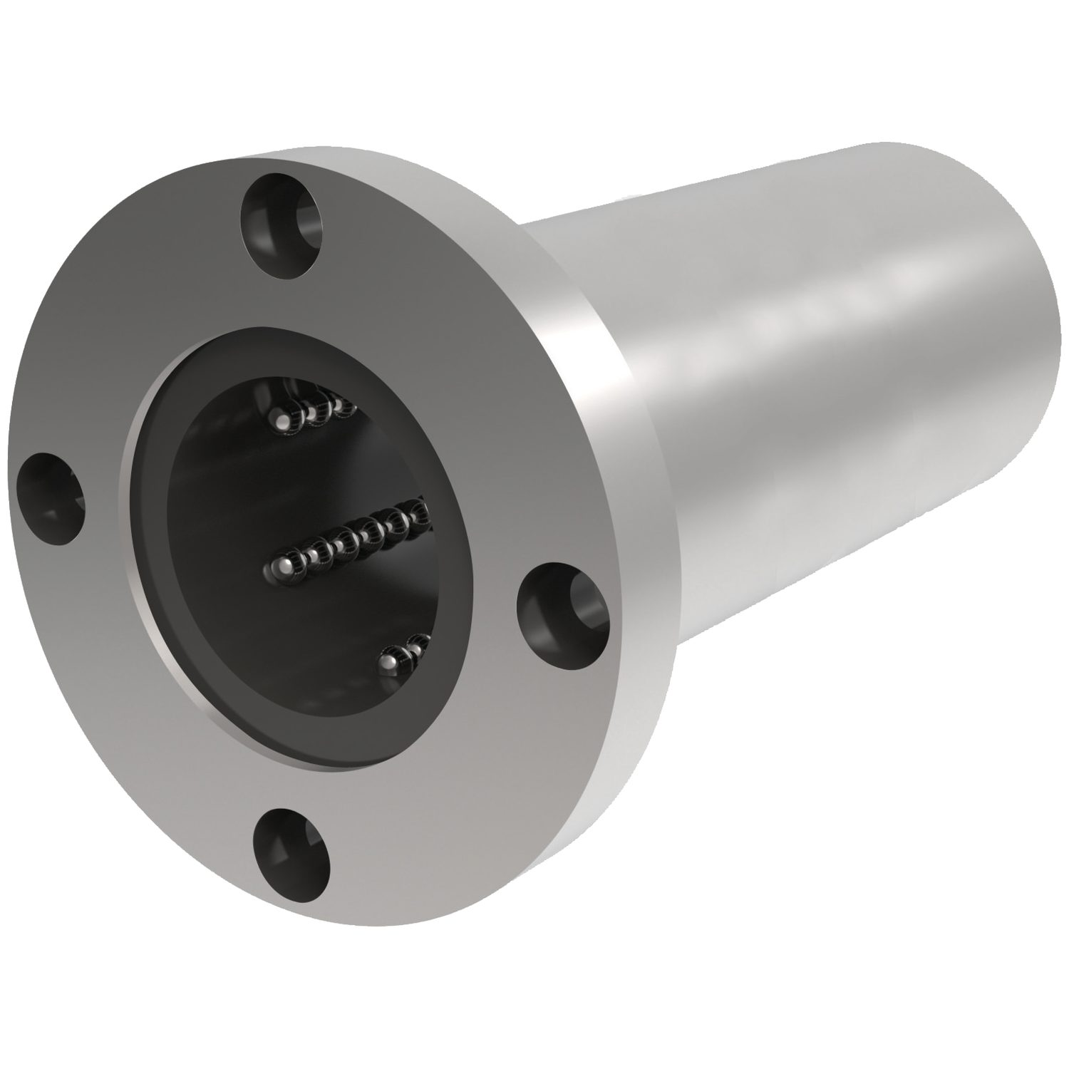 Product L1722, Long Flanged Linear Ball Bushings circular flange /