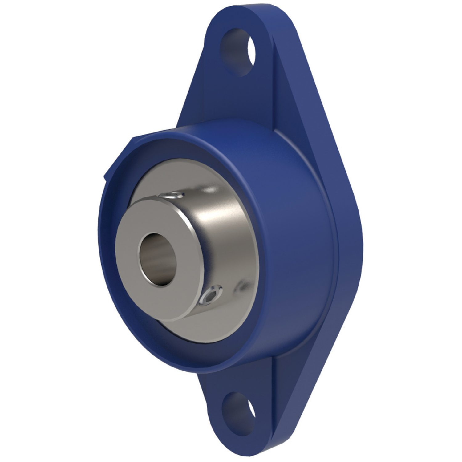 L1864 - Oval Flanged Bearing Unit
