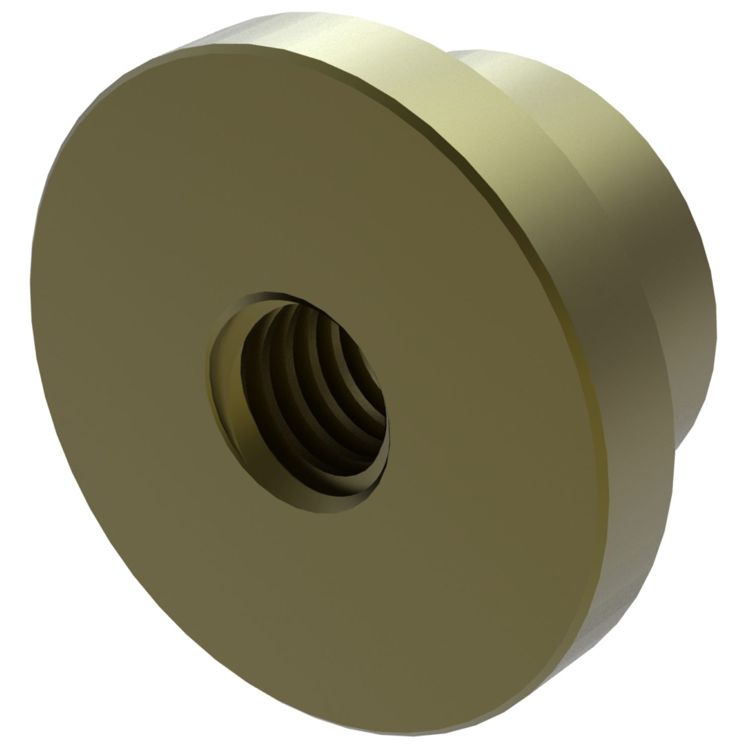Product L1332, Plain Flanged Bronze Nuts for lead screws /