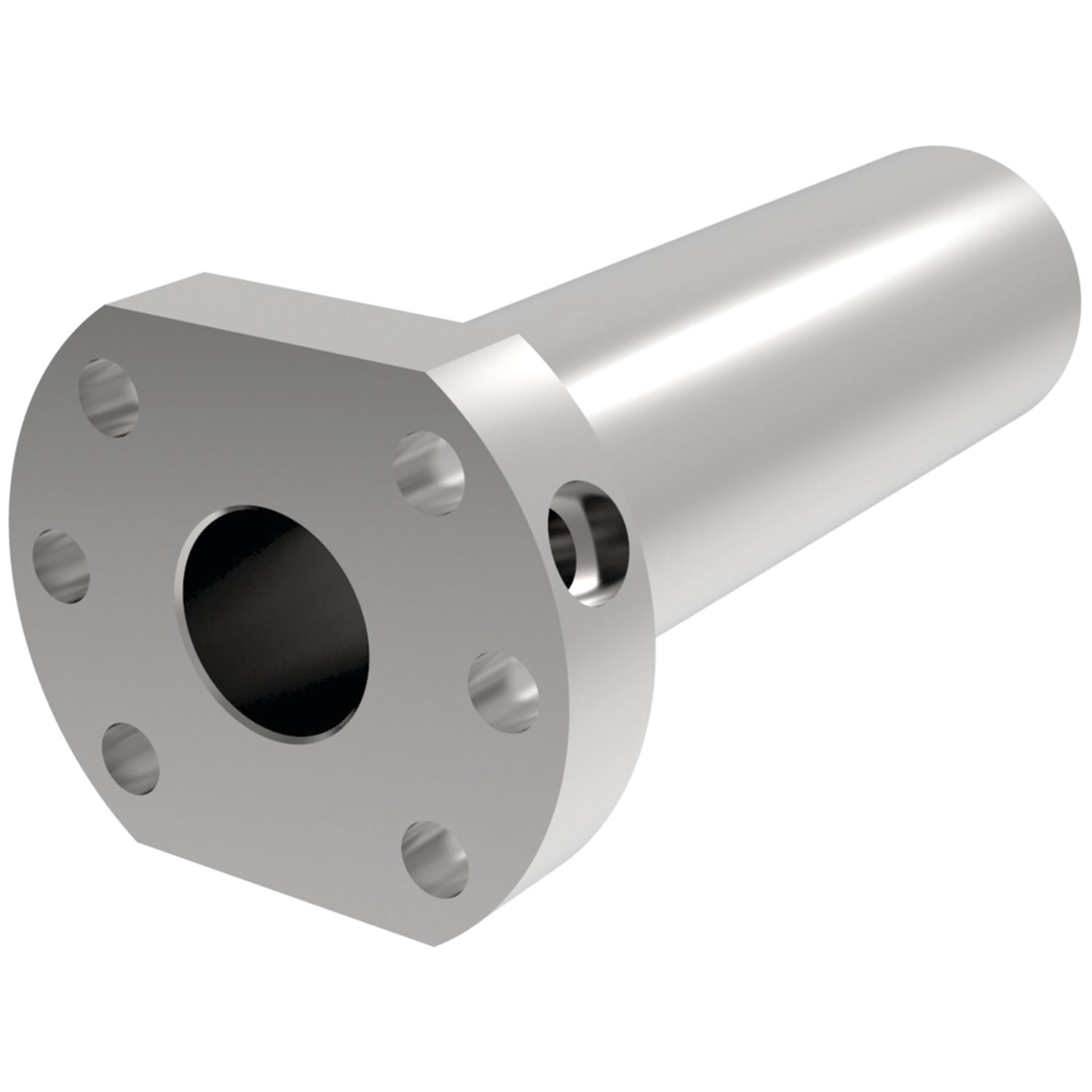 L1381.L - Left Hand Flanged Double Ball Nuts