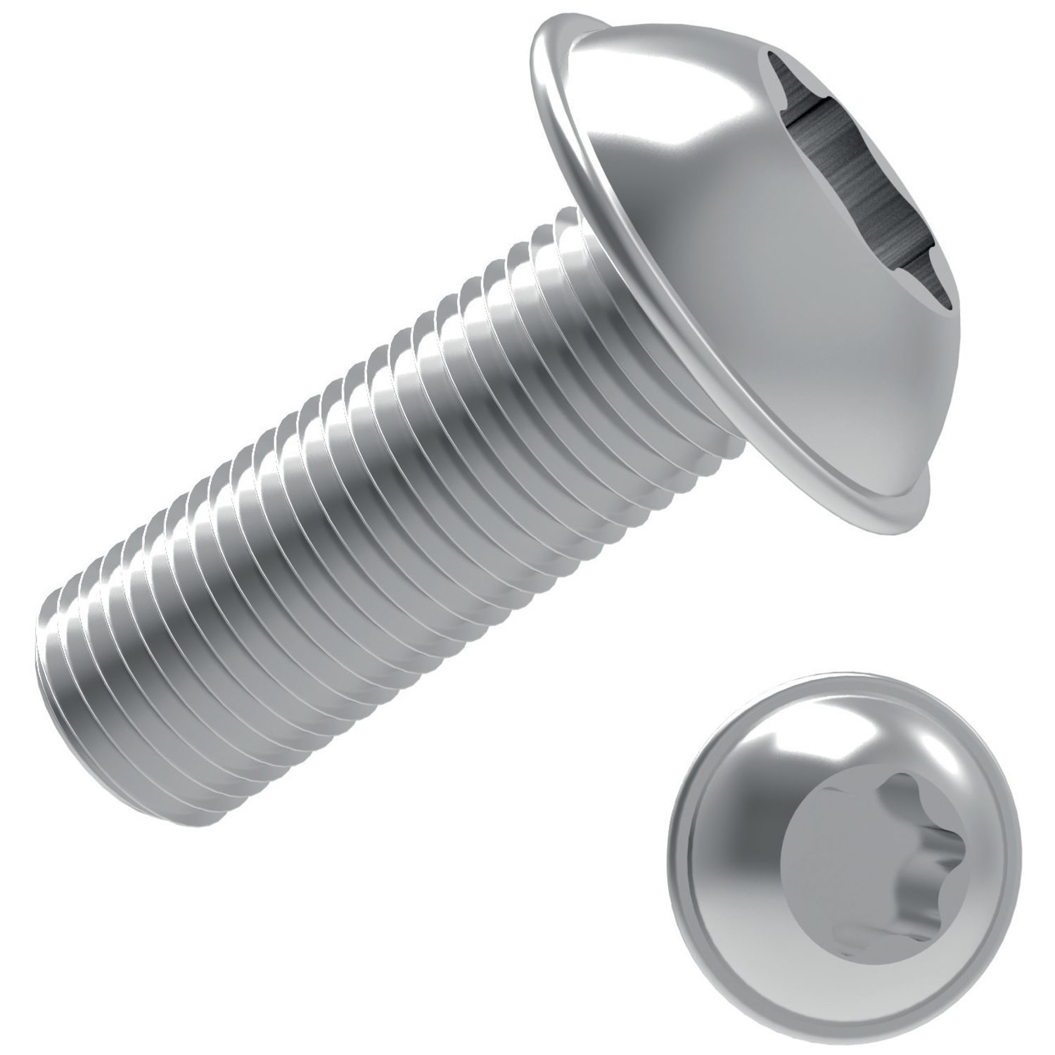 P0215.A2 - Flanged TX Button Screws