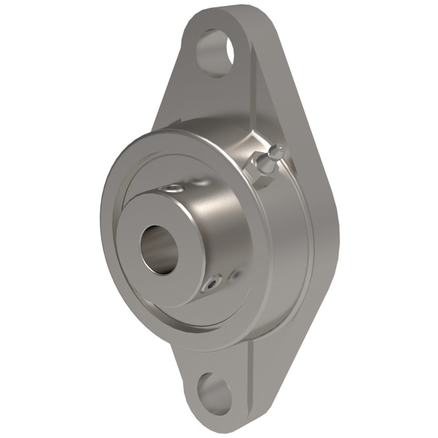 L1873 - Stainless Oval Flanged Bearing Units