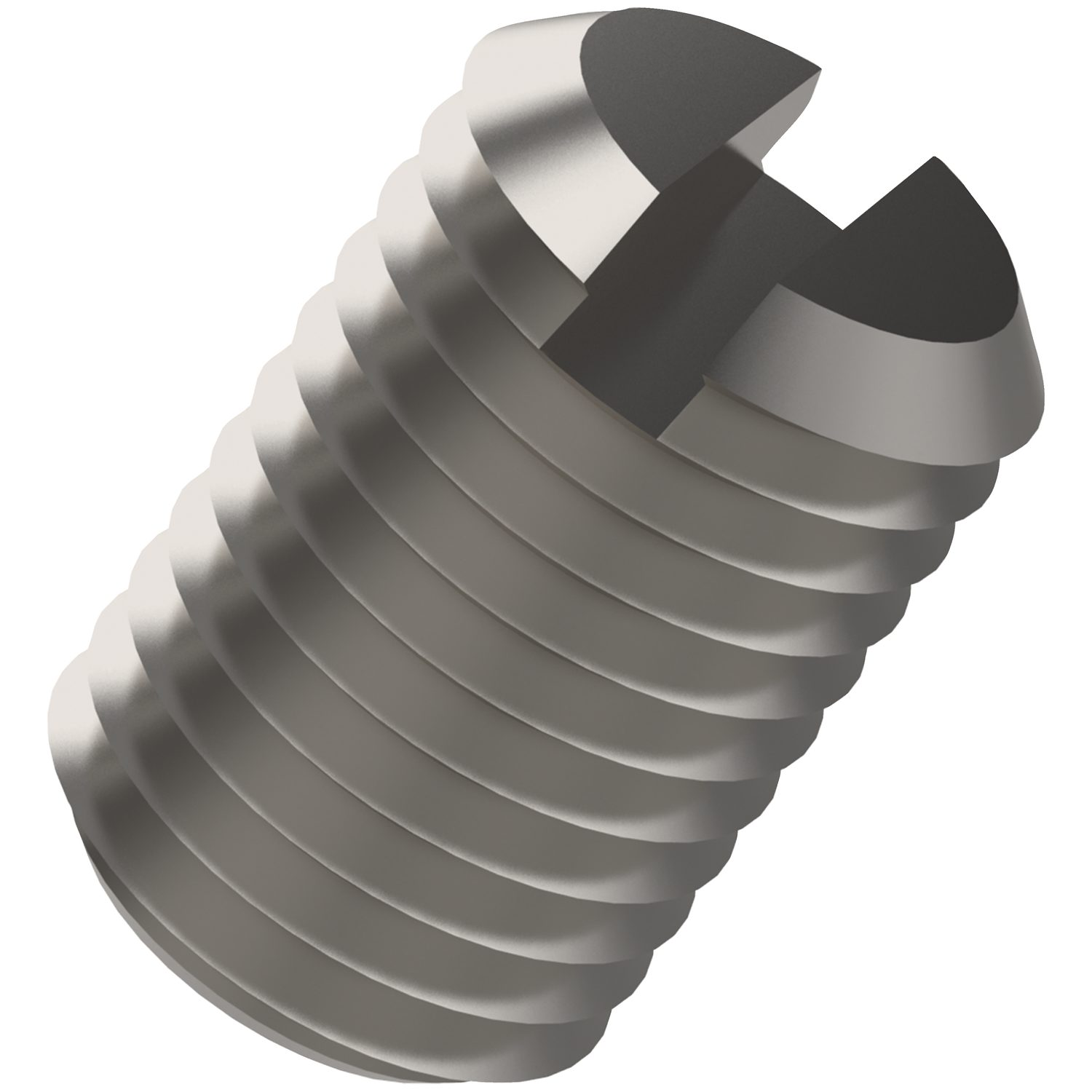 P0277.A4 - Slotted Set Screws Flat Point