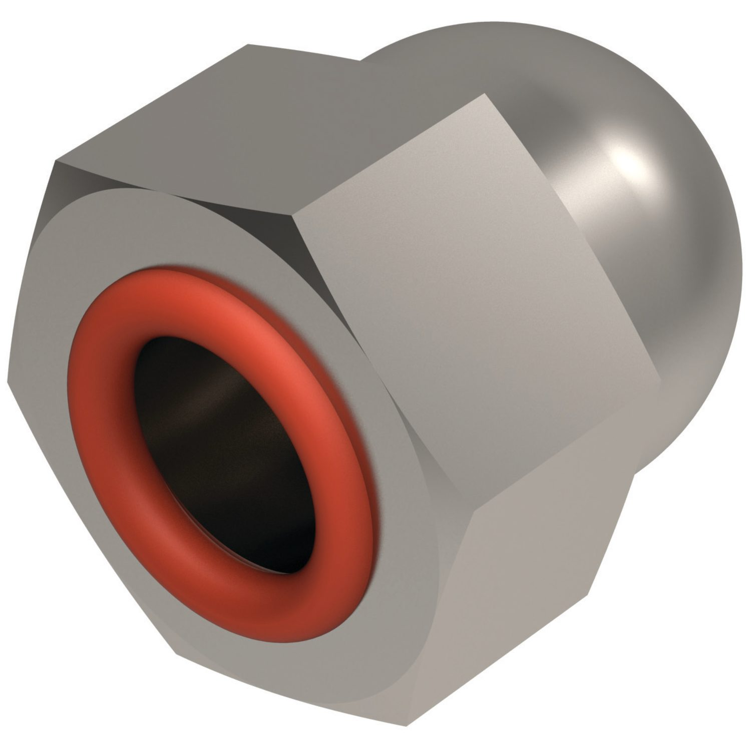 P0179 Integral Seal Domed Nuts