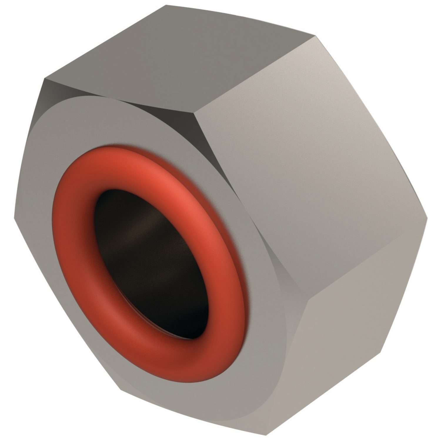 Product P0178, Integral Seal Hex. Nuts A2 stainless /