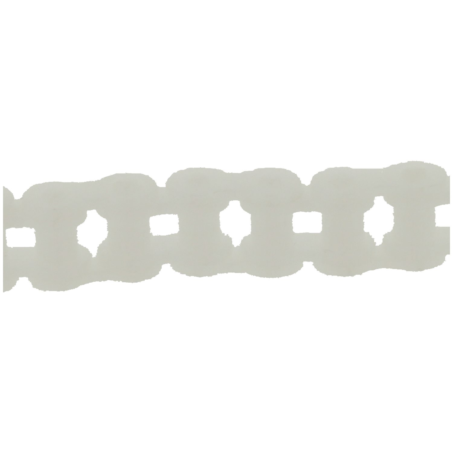 Product R1385, Delrin & Nylatron Link Chains 12,7 circular pitch, Ø7,9mm roller /