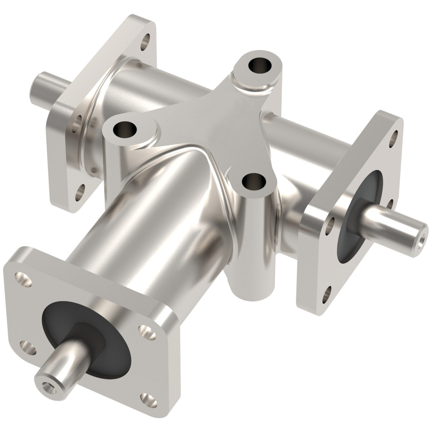R2351 - Stainless Right Angle Drives - 3 Shafts