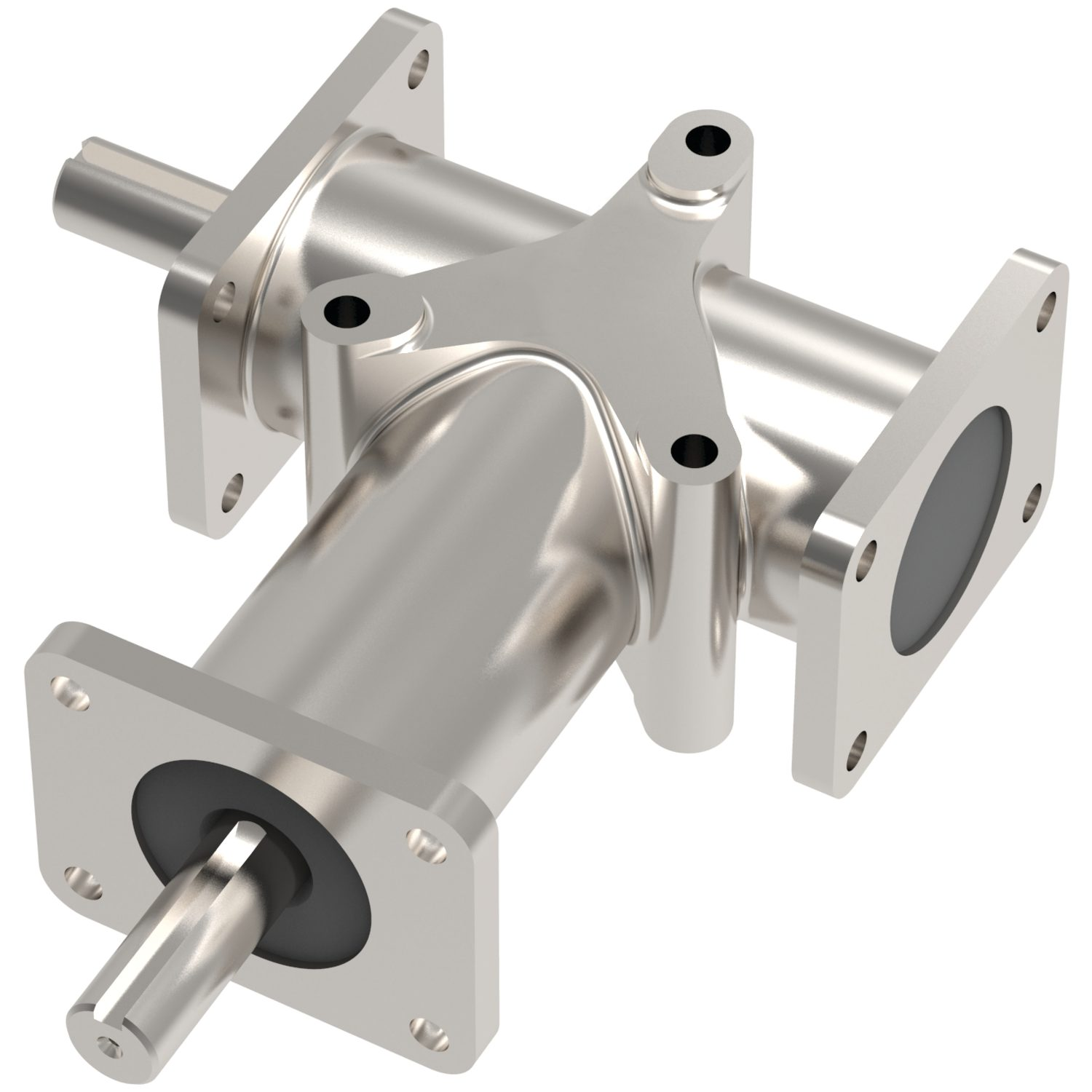 R2354 - Stainless Right Angle Drives - 2 Shafts