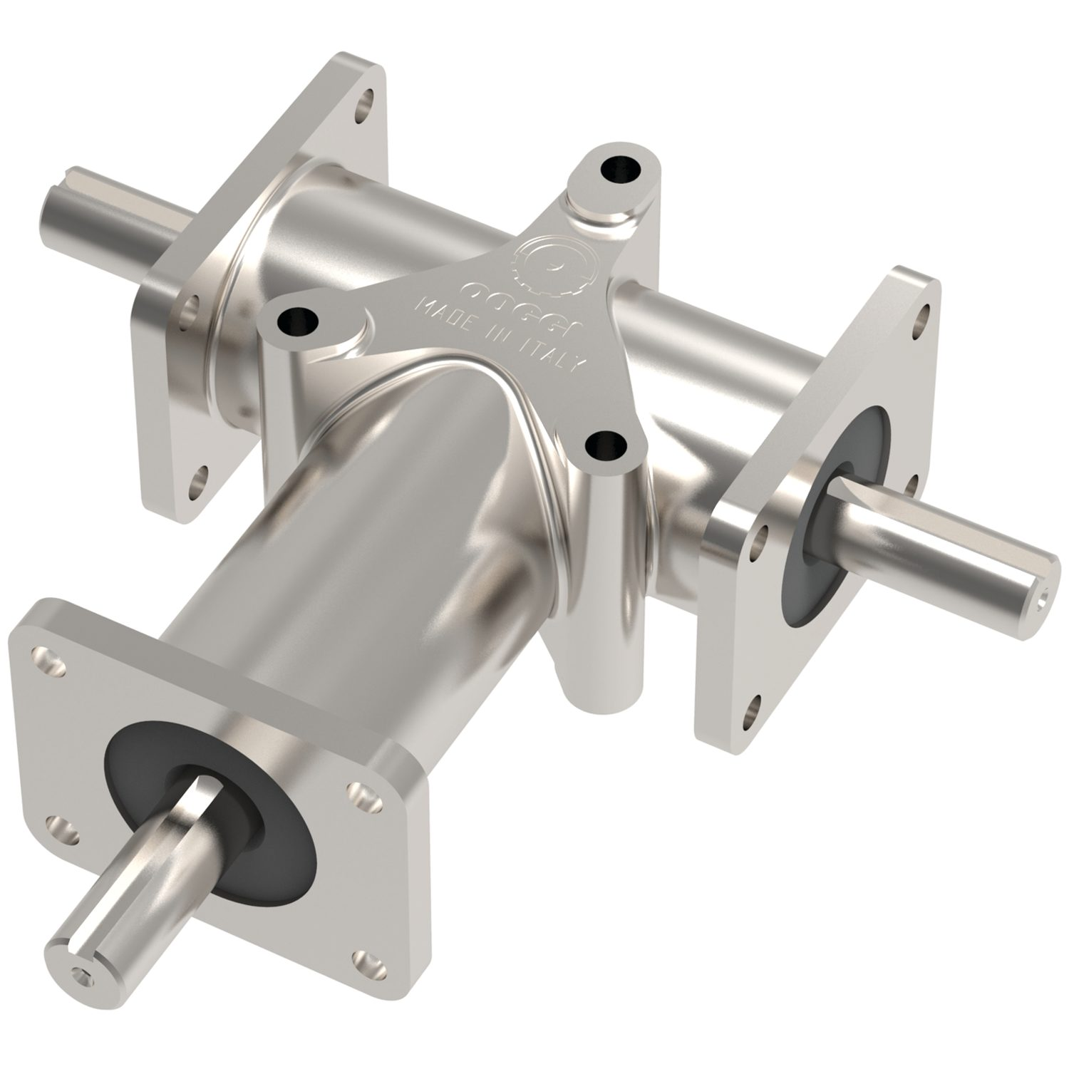 R2355 - Stainless Right Angle Drives - 3 shafts