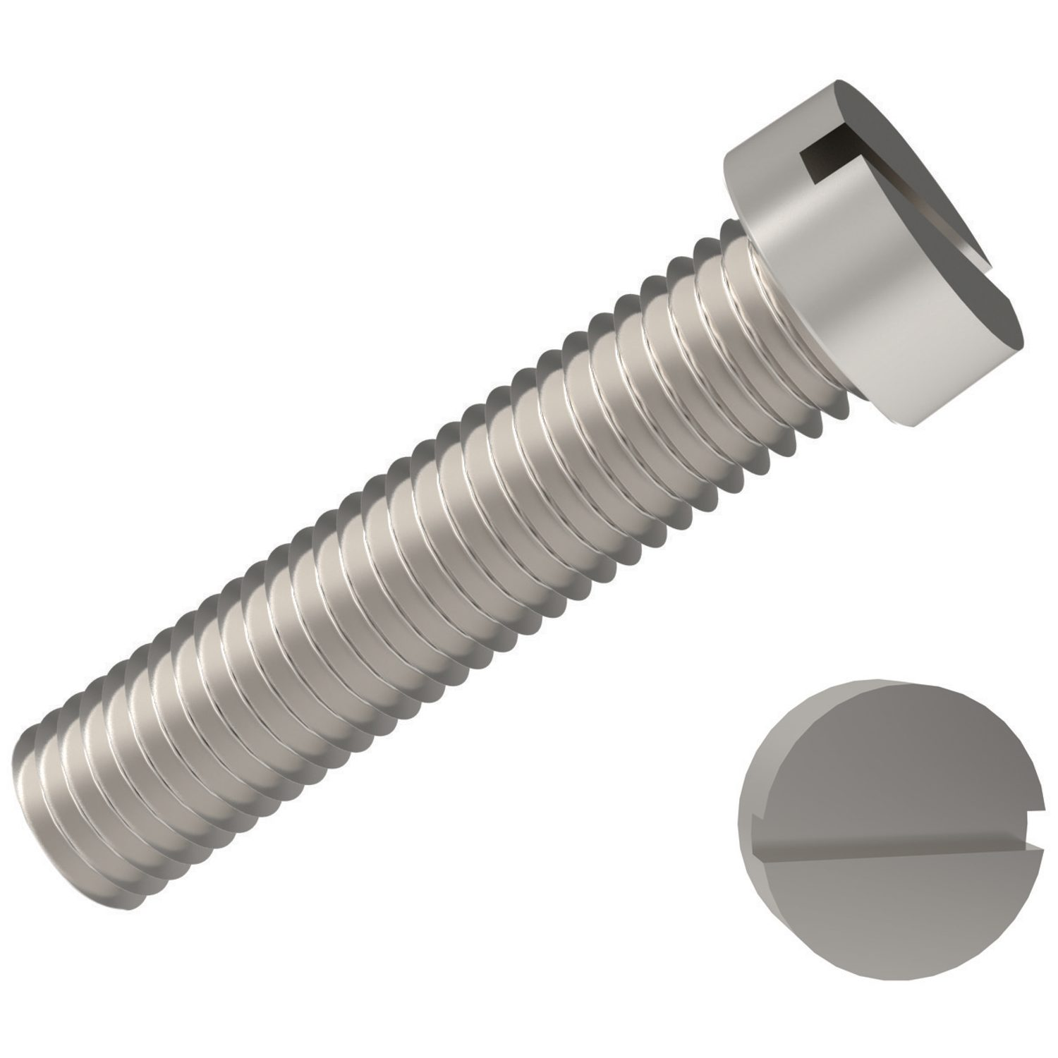 Cheese Head Machine Screws
