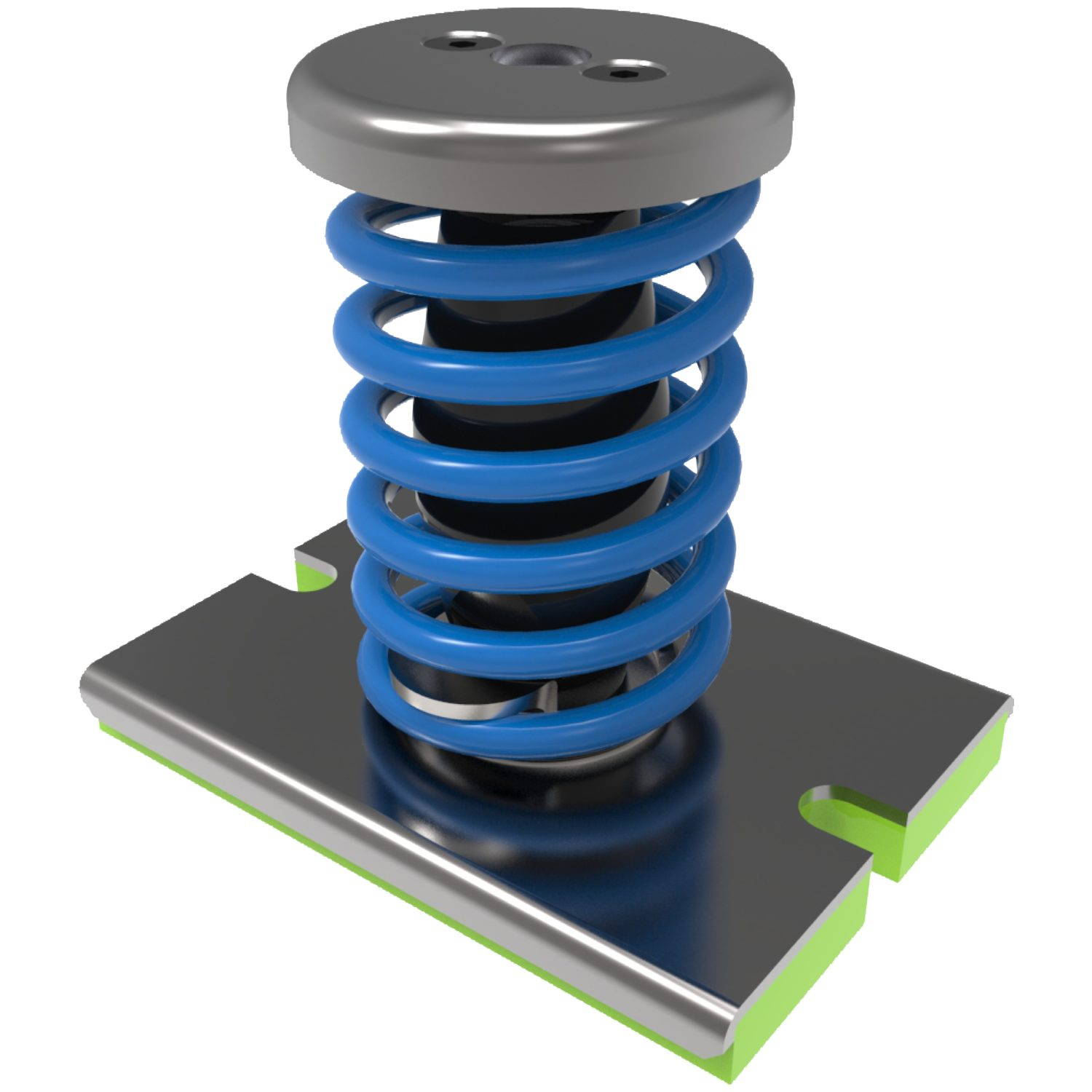 Anti-Vibration Spring Mounts