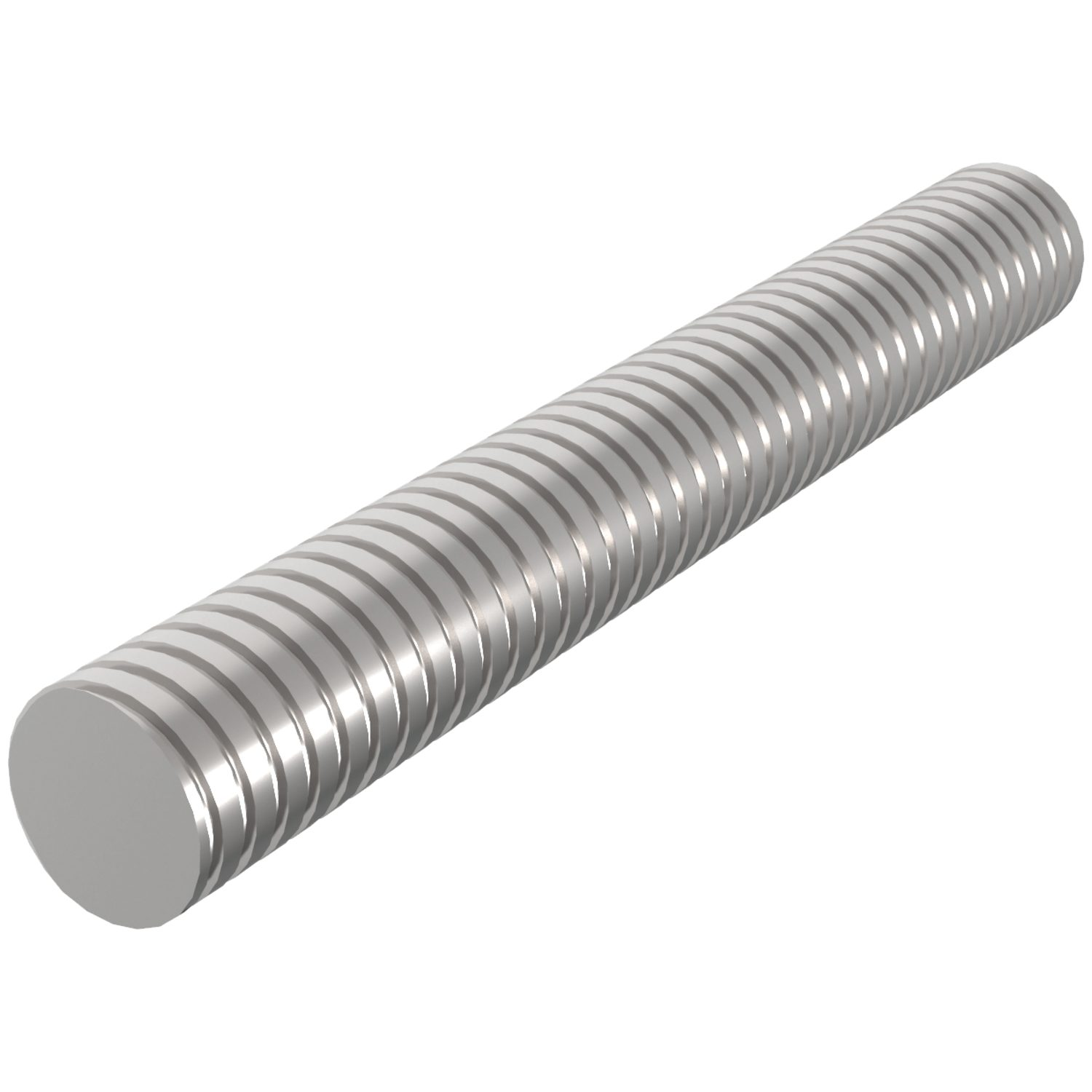 Product L1323, Stainless Lead Screws left hand thread /