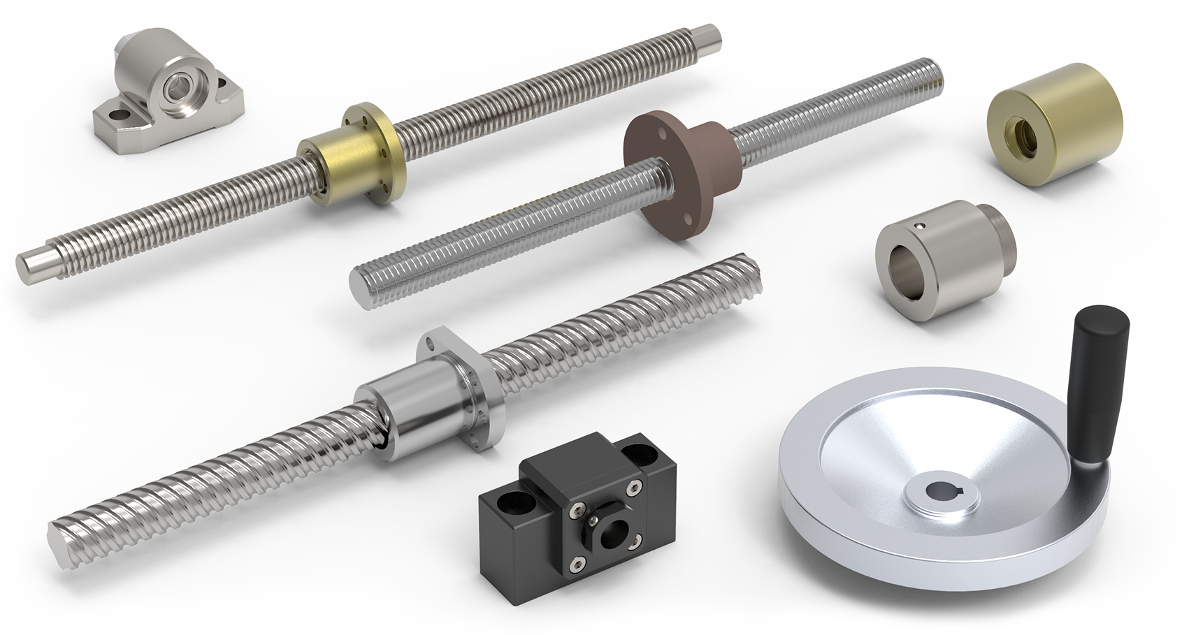 Lead Screws & Ball Screws