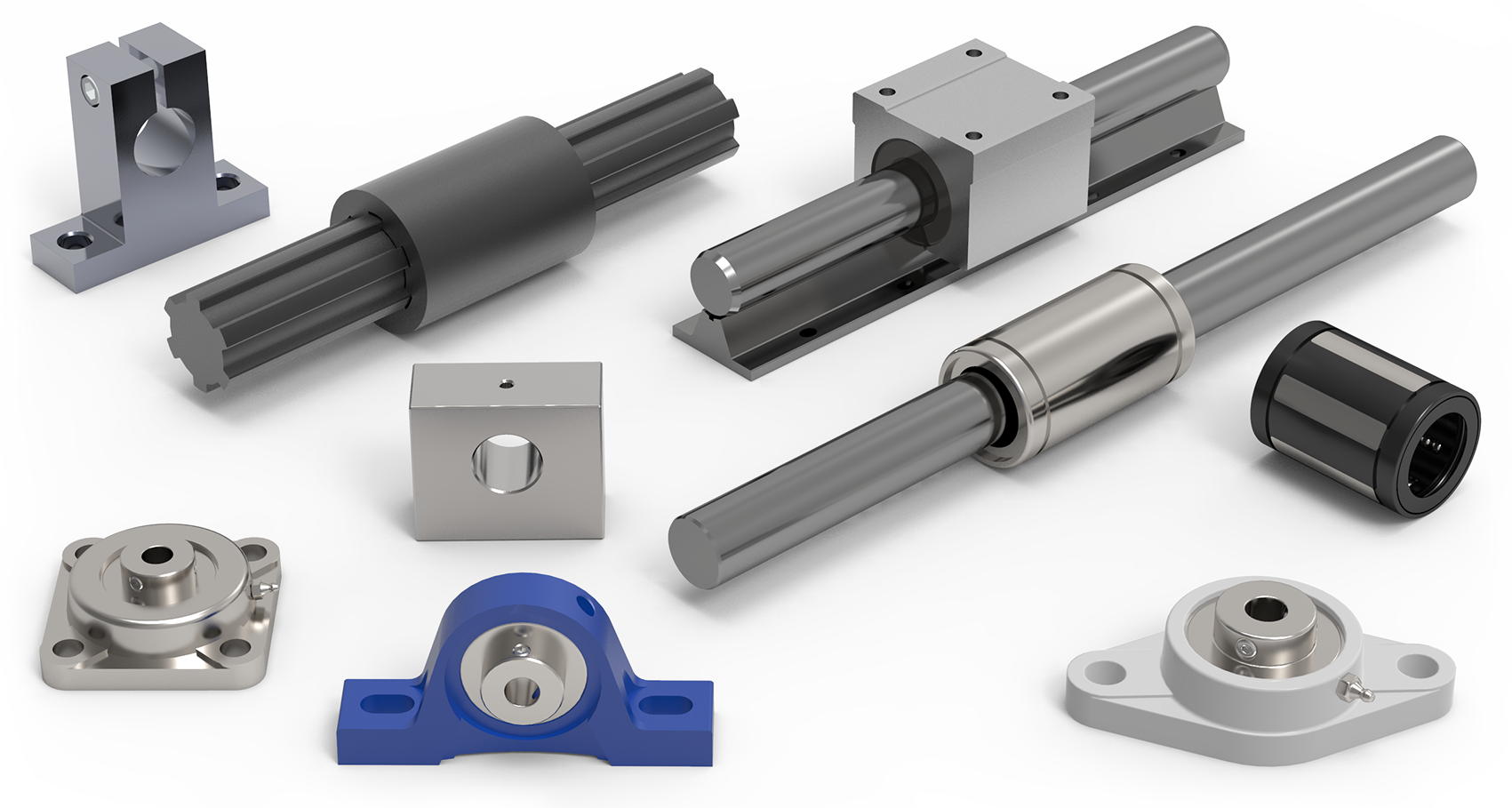 Linear Bearings & Shafts