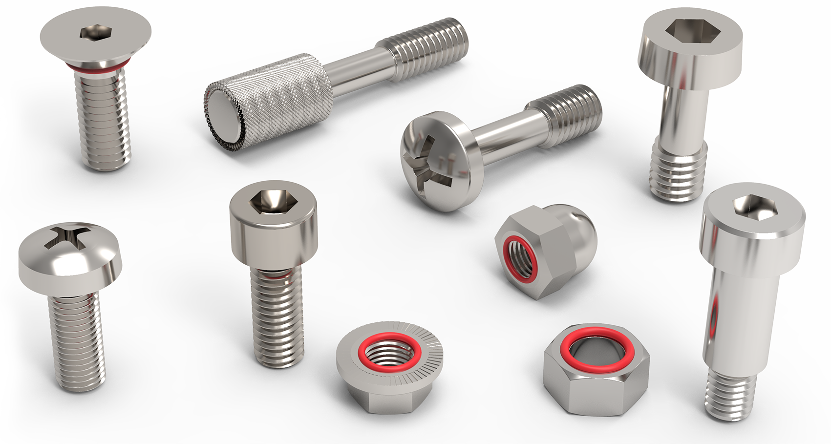 Shoulder Screws, Captive Screws & Sealing Screws